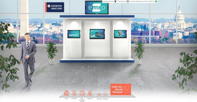 EMSP Virtual Booth at ECTRIMS ACTRIMS Congress 2020