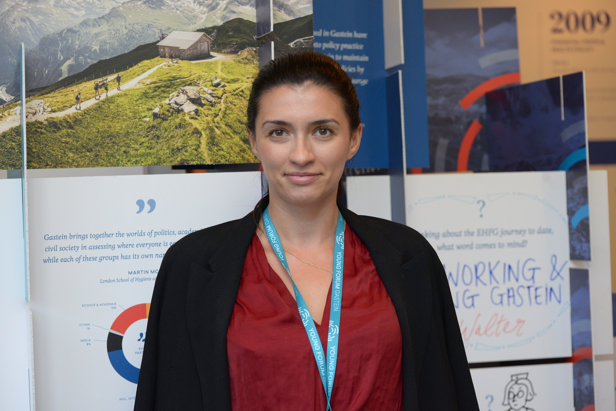 Photo of Andreea at EFHG 2017